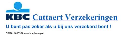 Cattaert Verzekeringen